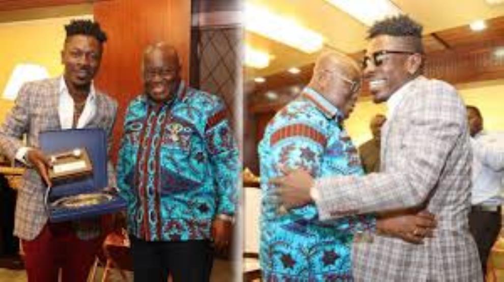 Shatta Wale's woes Deepen As Akufo Addo Unfollows Him OnTwitter